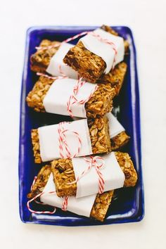 Recipe for Catherine McCord's Chocolate Chip Granola Bars   photos by Mary Costa for Camille Styles