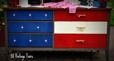 chalk painted furniture | Chalk Paint (& other painted) Furniture Ideas / West Furniture Revival ...