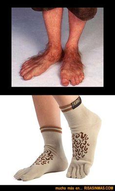 Calcetines modelo Hobbit.