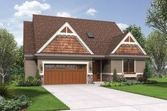 Deceptively Spacious Cottage Plan. Plan 1221CC The Newmarket is a 2905 SqFt Craftsman, Traditional style home plan featuring Covered Deck, Den/Bedroom, Games Room, Guest Suite, and Skylights by Alan Mascord Design Associates. View our entire house plan collection on Houseplans.co.