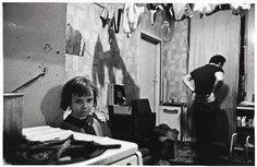 Mr and Mrs Gallagher lived with their 4 children in a ground floor tenement flat. Their bedroom was covered in pools of rainwater. At night they sleep with the light on to keep the rats away. One night they counted 16 rats in the room. Glasgow Maryhill.