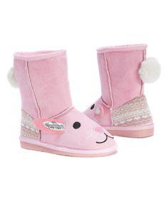 Love this Pink Bonnie Bunny Boot - Kids on #zulily! #zulilyfinds