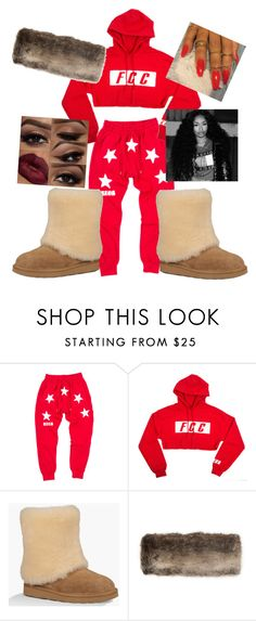 """""""December 5, 2016"""" by daisydukesss ❤ liked on Polyvore featuring UGG Australia, Joules and KENZI"""