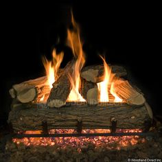 How to Clean Ceramic Gas Logs   Gas logs, Logs and Cleaning