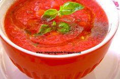 Sopas - Sopa fria Sopa fría de tomate y sandía