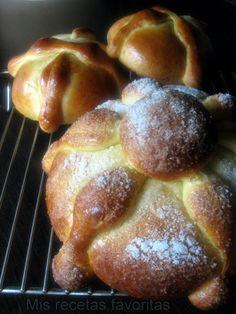 Pan de Muerto - Receta