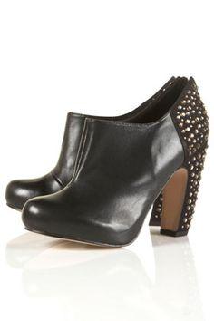 GRAPHIC2 Gem Heel Shoe Boots