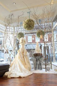 Mathilda Rose, Lindfield Christmas window '12. Cake Maison, Flowerbug Designs & Danni Beach Photography.