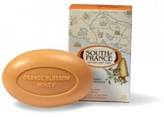 Orange Blossom Honey by South of France - Love their soaps! France Love, Orange Blossom Honey, Vegetable Glycerin, Palm Oil, Bar Soap, Shea Butter, Allergies, Body Care, Event Planning