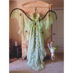 Luna Moth dress by Cindyrella Cosplay found on Instagram