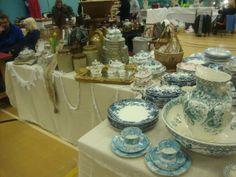 My stall at magnus Antiques Fair, Newark March 2014