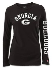 Image result for black university of georgia tee
