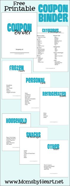 Free printable coupon binder, menu planner, shopping list and instructions! Just in case I ever decide to coupon Couponing For Beginners, Couponing 101, Extreme Couponing, Start Couponing, Free Printable Coupons, Free Coupons, Free Printables, Printable Labels, Coupon Binder Organization