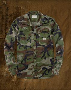 Camo Military-Inspired Shirt - Shop All Apparel - Ralph Lauren France