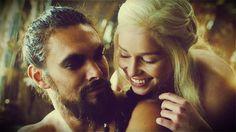 Khal Drogo & Daenerys Targaryen // #GameofThrones