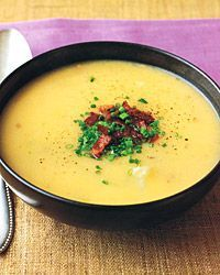 Potato and Cheddar-Cheese Soup Recipe on Food & Wine