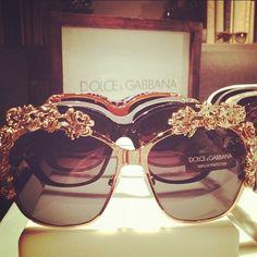 Dolce and Gabbana sun glasses.