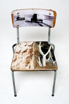Evolution old school chair
