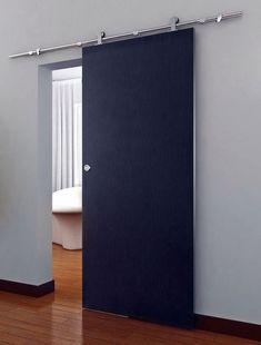 New 6.6'Antique Sliding Barn Door Hardware Set Kit Wood Doors Stainless Steel