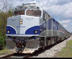 RailPictures.Net Photo: CNRY 381 Cincinnati Railway EMD F40PH at Springfield, Ohio by Zach Marlow KD8CJM