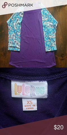 Lularoe Randy Tee Excellent condition, worn once and washer per LLR standards! LuLaRoe Tops Tees - Long Sleeve