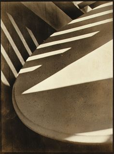 Abstraction,1916 by Paul Strand. This shot is among the first of intentionally abstract phtographs. via metmuseum.org
