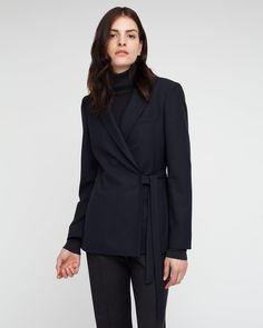 Flannel Wrap Jacket