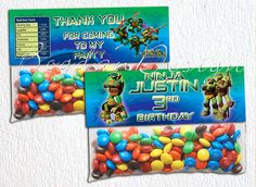 Ninja Turtles bag topper Bag Topper printable by BogdanDesign