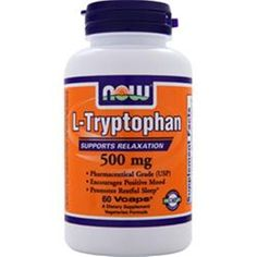 Better Quality Save U more! 60/120/180 NOW L-Tryptophan (500mg) 60 tabs/pack  Better Quality Save U more #NOW
