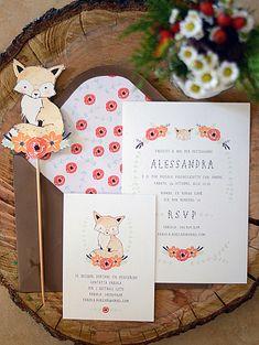 Fox Themed Baby Shower by Alessandra of Almalus Place via www.babyshowerideas4u.com #babyshowerideas4u