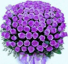 A Bouquet Of Purple Flowers In Recognition Pancreatic Cancer Awareness Day Tomorrow November 13 2017