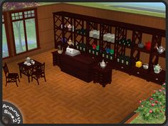 Around the Sims 2 | Objects | Downtown | Tea Shop