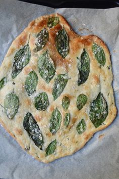 gorgeous basil flatbread