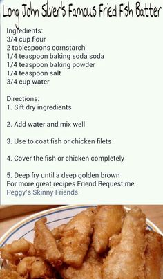 1000 images about seafood on pinterest long john silver for Long john silvers fish recipe