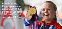 Great Britain's Paralympians won 120 medals at London 2012