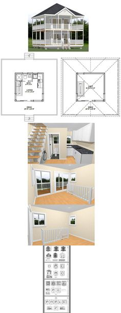 24x24 homes 1 bedroom 1 5 bath 1 066 sq ft pdf for 12x12 house plans
