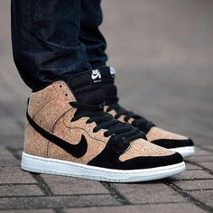 Big shouts to @_nate_w for giving us a first look at the Nike SB Cork High's dropping in May! | illestsneakers.com via Instagram http://ift.tt/1CVuubf