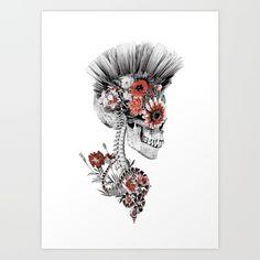 #skull #art #snakes