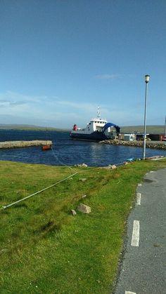 Ferry  to Unst, Shetland