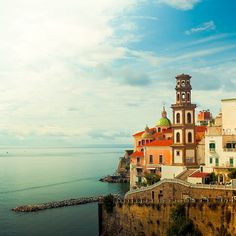The beautiful Amalfi Coast in Italy