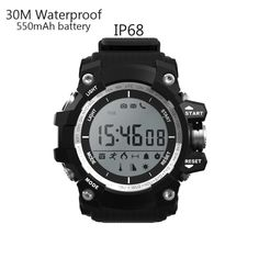 IP68 Sports Health Smart Watch Waterproof, Altitude Meter, Pedometer, Bluetooth 4.0 for iOS & Android //Price: $37.95 & FREE Shipping //     #androidwatch