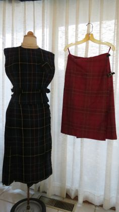 """True #vintage #tartan wool pieces from the #1960's.  Classic and elegant (warm, too!)  All the """"best"""" people have worn them - the Hepburns (A. and K.), the Princesses (D. and K.) as well as the Princess G.  The supermodels Twiggy, K.M., etc, etc. Definitely worthy of a place in your closet. Morgana Martin, the Magicvintagespy Blog:  Magicvintagespy.com Book:  How to Find the Best in Vintage Fashion available on Amazon.com"""