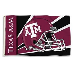 BSI Products NCAA Helmet Design Traditional Flag NCAA Team: Texas A&M