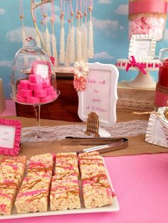 Sweets table at an owl baby shower party! See more party ideas at CatchMyParty.com!