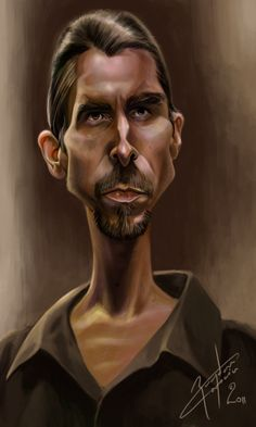 Christian Bale by bogdancovaciu on deviantART