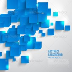 Vector  square. #Abstract background card blue. - #Web #Elements #Vectors Download here: https://graphicriver.net/item/vector-square-abstract-background-card-blue/7330006?ref=alena994