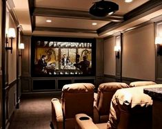 Media Room Theater Rooms Design, Pictures, Remodel, Decor ..