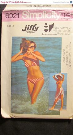 This pattern is in excellent vintage condition, uncut with instructions intact. Thanks for shopping EarthToMarrs!    All Patterns sold as is,