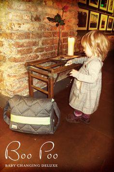"""Boo Poo nappy bags / model """"Greenbird"""" - baby changing deluxe #Wickeltaschen #BooPoo"""