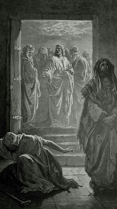 Phillip Medhurst presents detail 208/241 Gustave Doré Bible The Pharisee and the Publican Luke 18:11-13